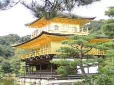 Kinkakuji-Golden Temple in Kyoto