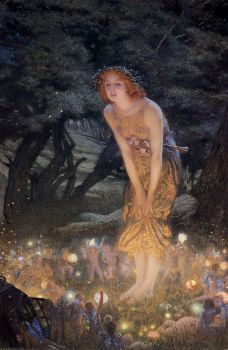 Midsummer Eve-Edward Robert Hughes