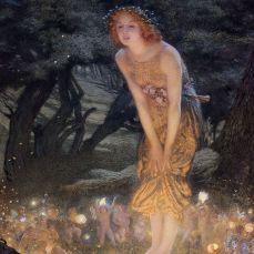 Midsummer Eve-Edward Robert Hughes